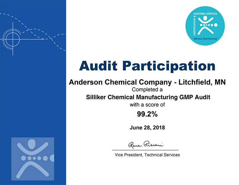 Sanitation Technologies - Anderson Chemical